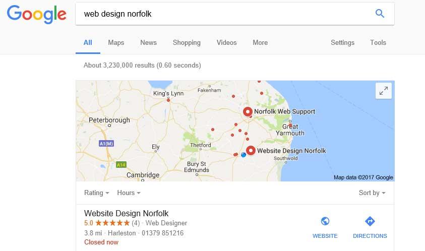 SEO is easy - Web Design Norfolk   Website Designers based in Diss, Harleston, Thetford, Bungay, Beccles, Suffolk
